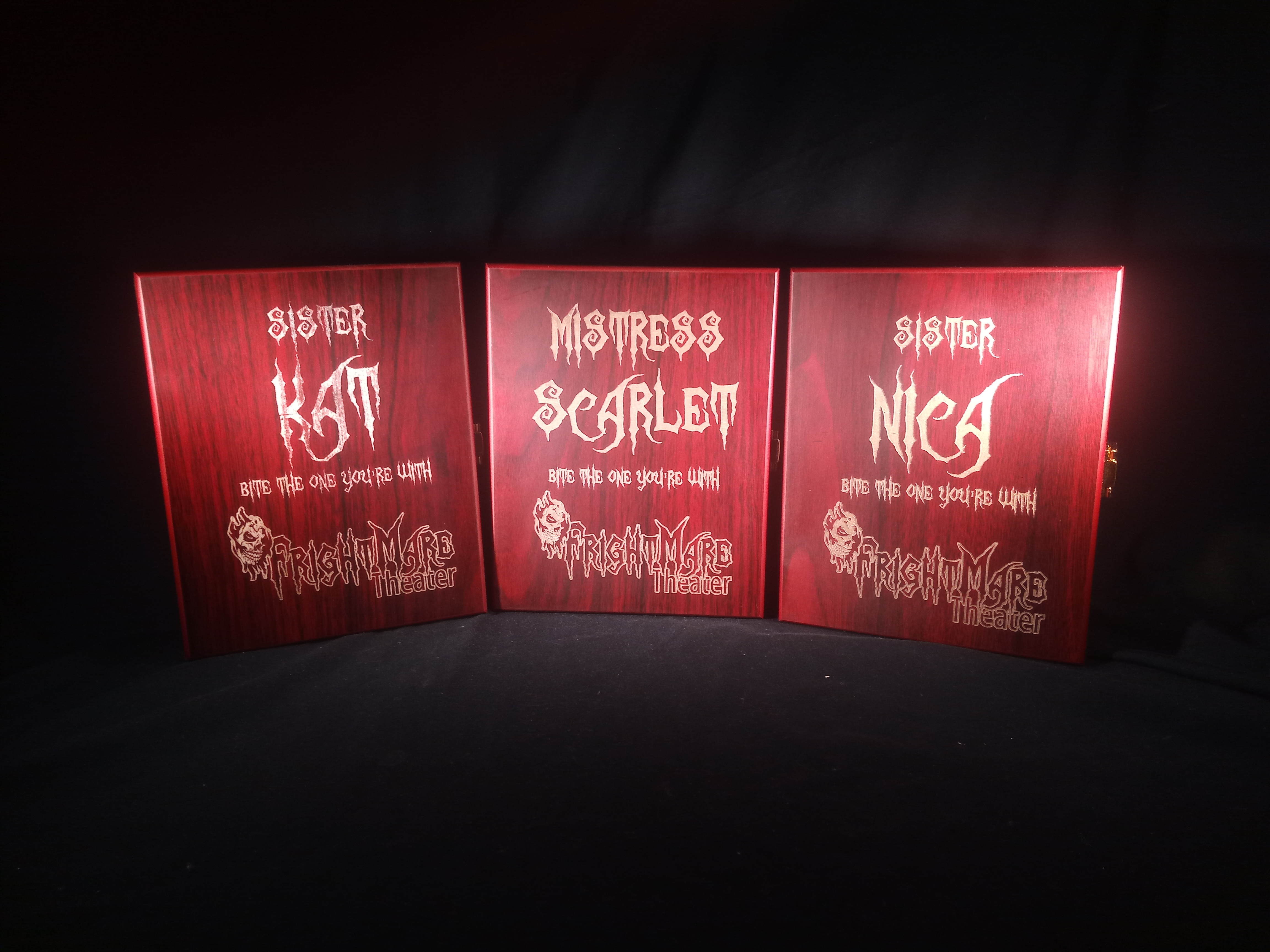Small Boxes for Frightmare Theater