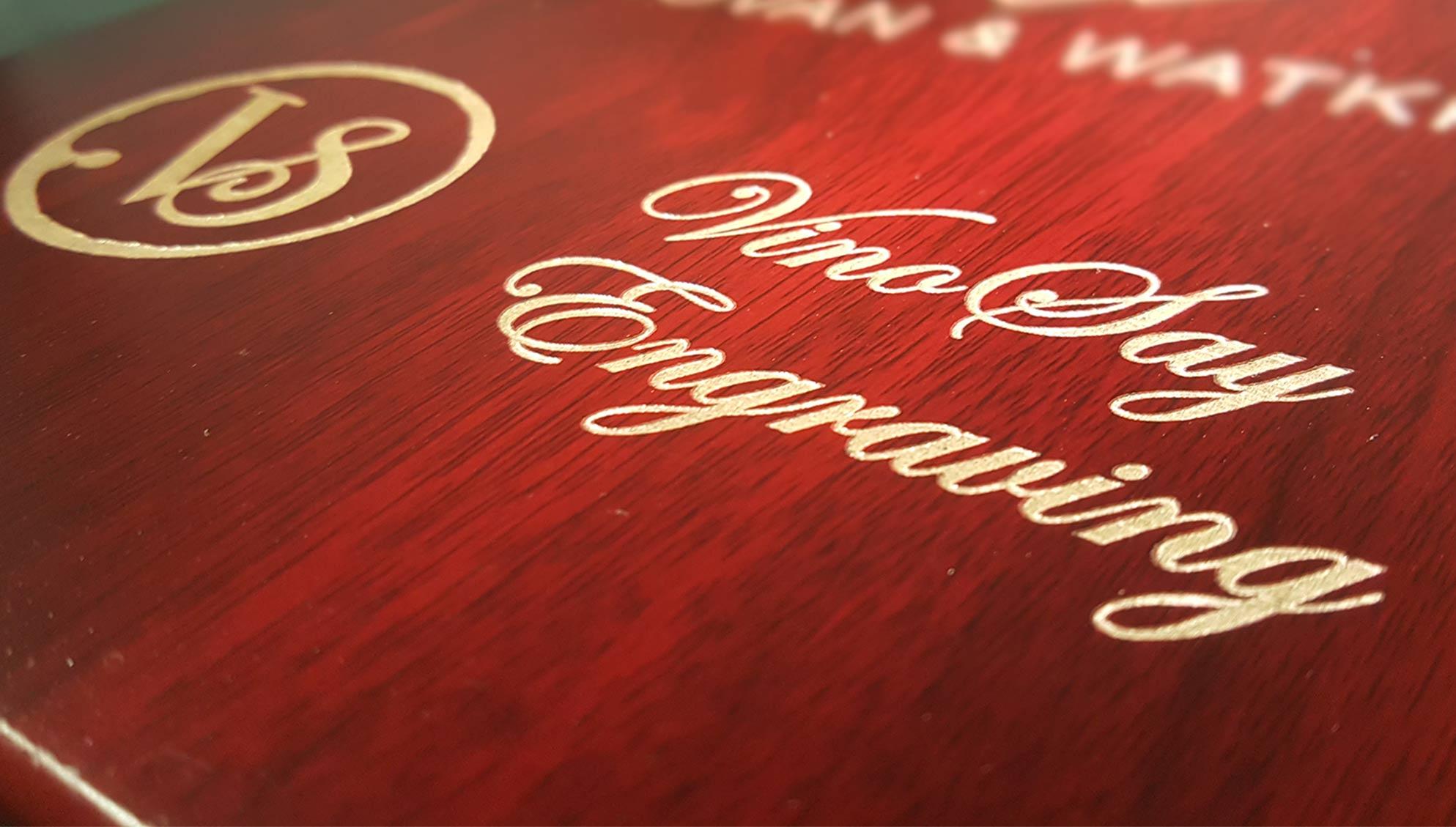 Vinosay Engraving